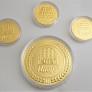 客製化純金金牌金幣